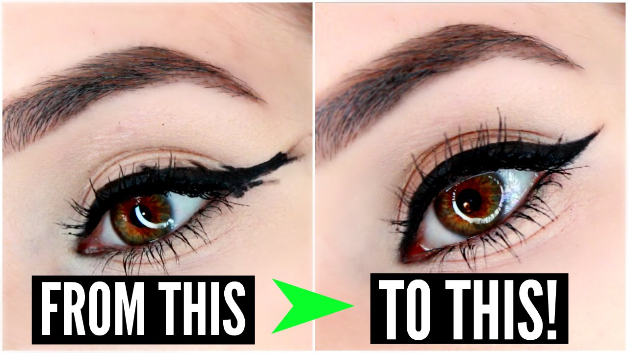 7a6abcf27fc 12 EYELINER HACKS for FLAWLESS Winged Eyeliner Every Time! | SylviaGani -  YouTube