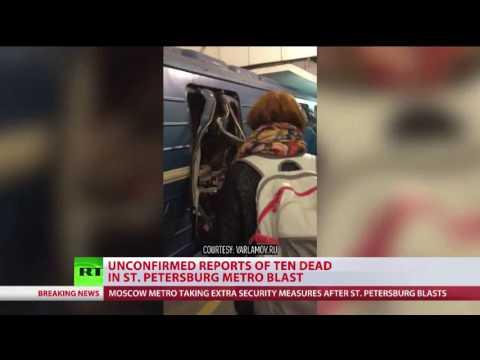 """St Petersburg bomb hurts Europeans, Brits, Americans & Russians"""