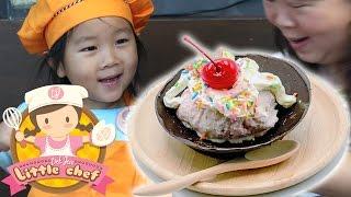 เด็กจิ๋วสอนทำถ้วยไอศครีมช็อกโกแลต Chocolate Boom ภาค2 [N