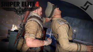 Speedrun of the Century - Sniper Elite 4 - Mission 7 COOP Gameplay