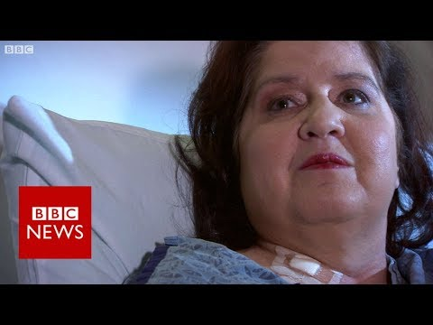 Las Vegas shooting: 'The bullet went through my chest' - BBC News