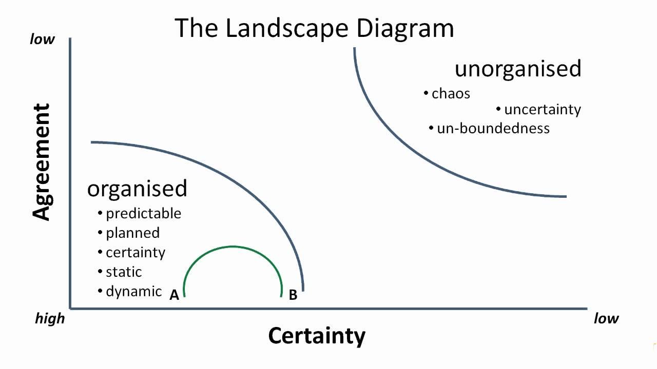 Louie Gardiner using the Landscape Diagram to describe
