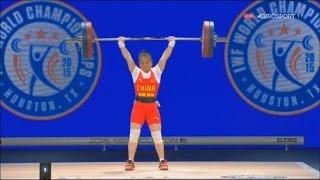 2015 World Weightlifting Championships. women 48kg \ Чемпионат мира женщины до 48кг