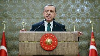Cumhurbaşkanı Erdoğan, eski TBMM Binası'nda konuştu