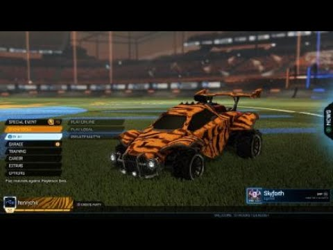 Rocket League World Record! [Most goals scored in a game of Rocket League on Unfair difficulty]