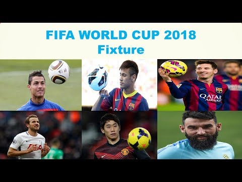 FIFA World cup 2018 fixtures