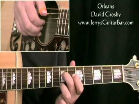 how to play david crosby orleans (preview only)