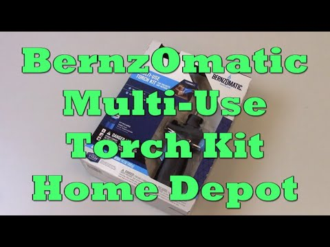 Bernzomatic Torch Kit From Home Depot Testing First Strike Youtube