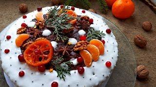 Декор Рождественский Кекс.  Украшение Рождественского Кекса.