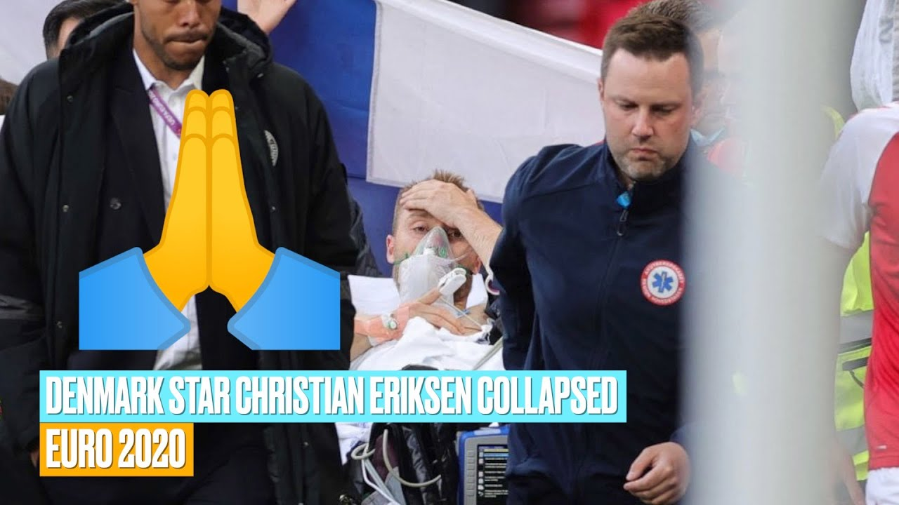 Denmark vs. Finland match suspended after Danish star Christian ...