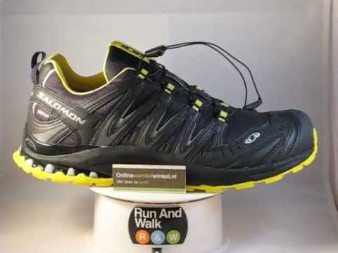 fd2ef2f8b95 Salomon XA Pro 3D Ultra 2 GTX heren wandelschoen 360 view - YouTube