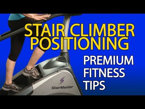 How to Use a Stair Climber - LA Fitness - Workout Tip