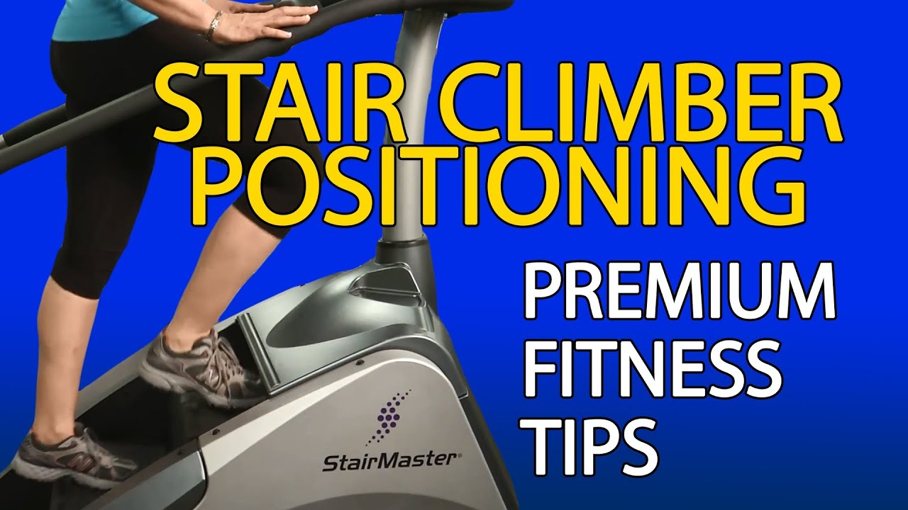 How To Use A Stair Climber