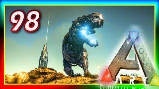 """ARK: Survival Evolved - Custom """"BIONIC T-REX"""" CONTEST S2E98 (Modded Gameplay) Tek tier Rex Games!"""