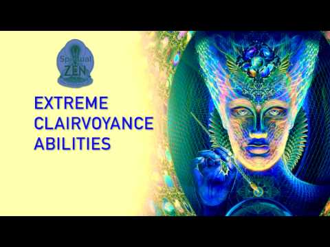 Get Extreme Clairvoyance Abilities (See the Future) Psychic Subliminal Binaural Beat Meditation