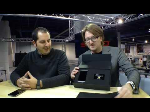 CrackBerry's Porsche Design P'9982 BlackBerry Unboxing