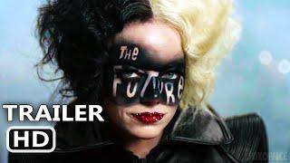 CRUELLA Trailer 2 (NEW, 2021) Emma Stone, Disney Movie HD