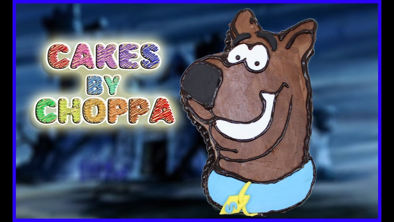 Scooby Doo Cake EASY How To YouTube