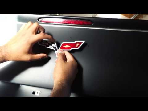 How To: Corvette Emblem Removal