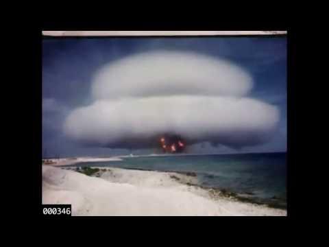 USA Veröffentlichen Bisher Geheime Filme Von Atombomben-Tests