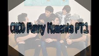 CNCO FUNNY MOMENTS PT.1 ( English translation)