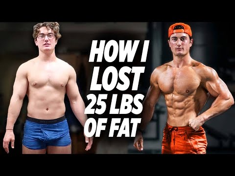 HOW I LOST 25 LBS OF FAT | HOW TO LOSE FAT FAST & EFFICIENT