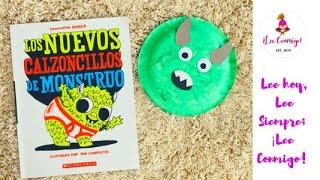 ¡Lee Conmigo! : Los nuevos calzoncillos de Monstruo