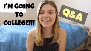 College Q+A & Where I