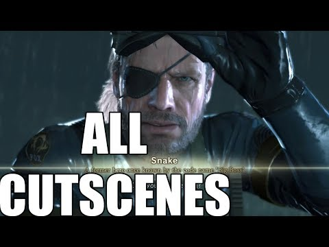Metal Gear Solid V: Ground Zeroes - All Cutscenes
