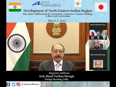Keynote Address|| Amb. Harsh Vardhan Shringla Foreign Secretary, India