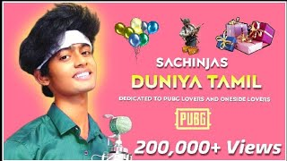 Adi nee enna | Duniya | Tamil verision | Pubg Song • SachinJAS (Available on Spotify)
