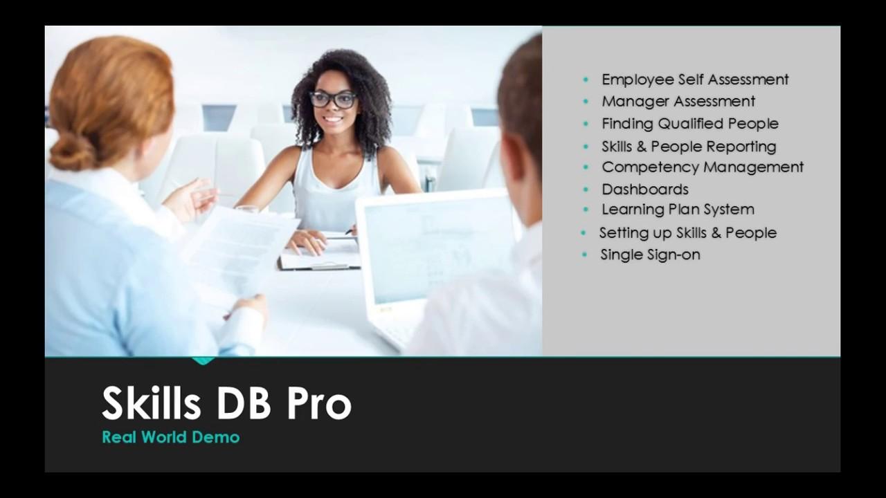 Skills Management Software Done Right - Skills DB Pro
