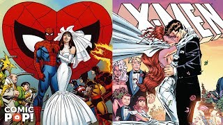 Spider-Man and X-Men Weddings - Back Issues