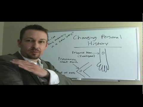 How to Change Personal History (NLP Practitioner Course) - Dr. Steve G. Jones