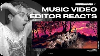 Download lagu Video Editor Reacts to BTS - Blood Sweat & Tears (Official MV)