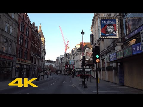 London Lockdown: Theatreland【4K】