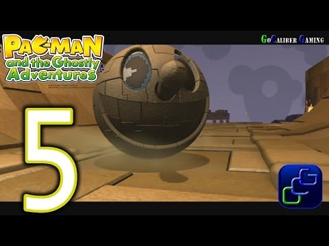 Pac-Man And The Ghostly Adventures Walkthrough - Part 5 - Ruins: Rock 'til You Drop