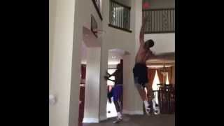 Дома у баскетболистов