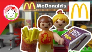 Playmobil Film deutsch Bei McDonalds - McDrive - Kinderfilme von Family Stories