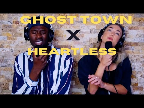 """Kanye West, Chloe George """"Ghost Town"""" x """"Heartless"""" Mashup – (Ni/Co Acoustic Cover)"""