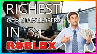 Top 10 Richest Roblox Game Developers