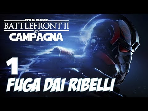 STAR WARS BATTLEFRONT 2 - CAMPAGNA #1 - FUGA DAI RIBELLI - GAMEPLAY PC ITA 1080p GTX1070