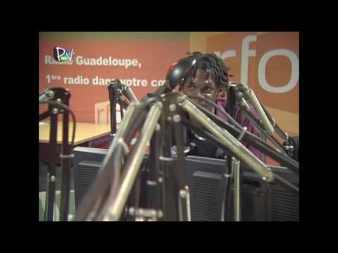 Johnny BALTUS, déficient visuel et animateur radio  - Guadeloupe