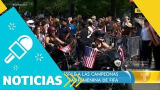 NY recibe a las campeonas de la Copa Mundial Femenina   Un Nuevo Día   Telemundo