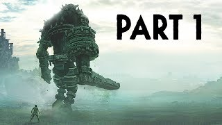 Shadow of the Colossus PS4 Remake Gameplay Walkthrough Part 1 - 1st & 2nd Colossus (PS4 Pro 4K)