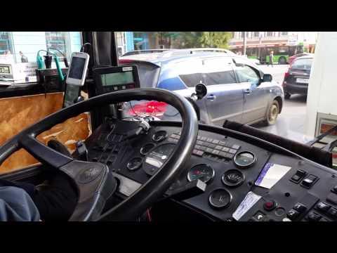 2 автобусный маршрут. Красноярск. Карта.