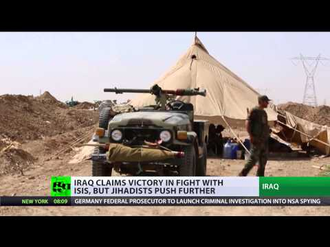 Iraqi Power Struggle: ISIS meets little resistance in fight for territory