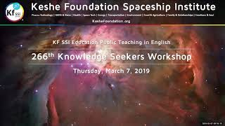 266th Knowledge Seekers Workshop - Thursday, March 7, 2019