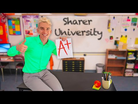 BECOMING ONLINE SCHOOL TEACHER for 24 HOURS!! (Welcome to Share The Love University) #WithMe