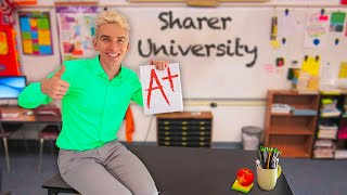 BECOMING ONLINE SCHOOL TEACHER for 24 HOURS!! (Welcome to Share The Love University)